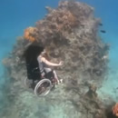 Deep sea diving in a wheelchair