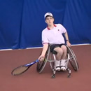 Fixed Wheelchair Tennis Training