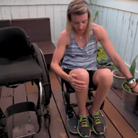 portable wheelchair aisle chair