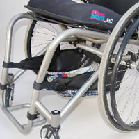 wheelchair under seat bag